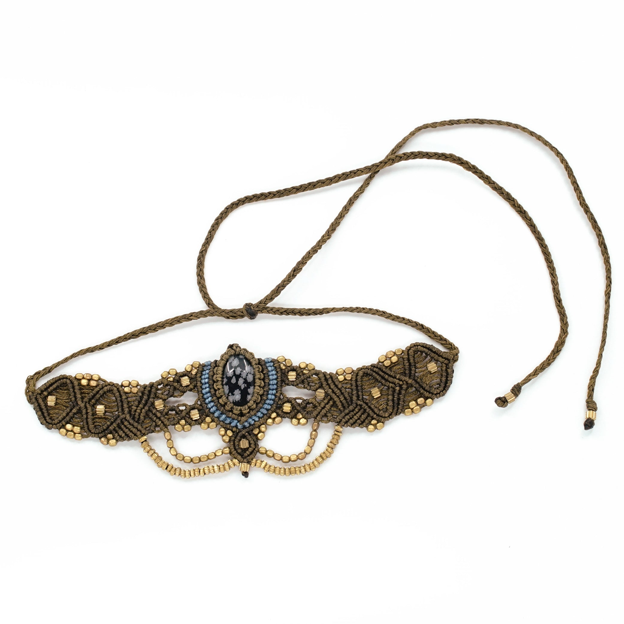 The Queen Off Duty Headdress/Choker - #48