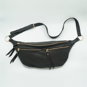 The Everywhere Bag #5 — Ultrasoft Dark Chocolate Brown Leather with Gold Hardware