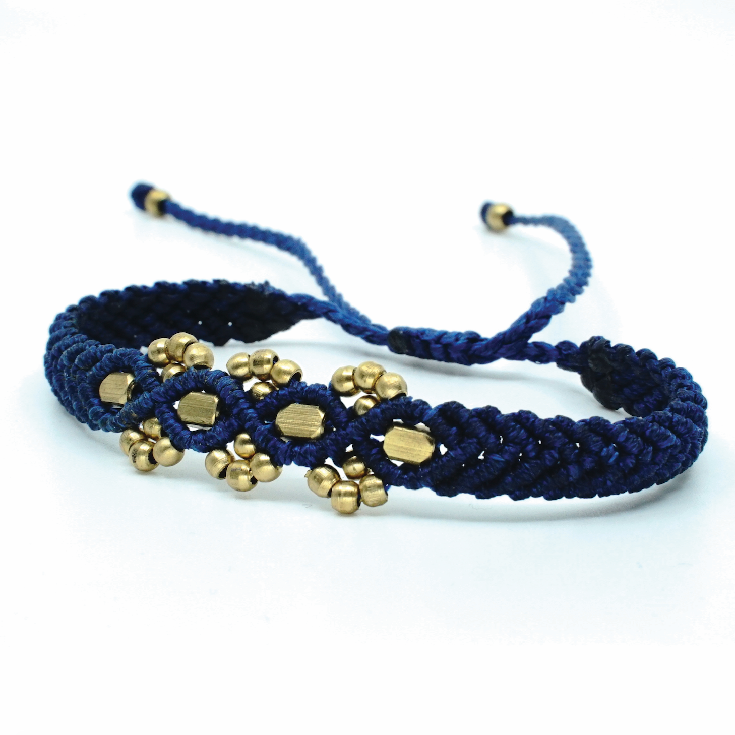 The Chaar Bracelet with Flat Bead