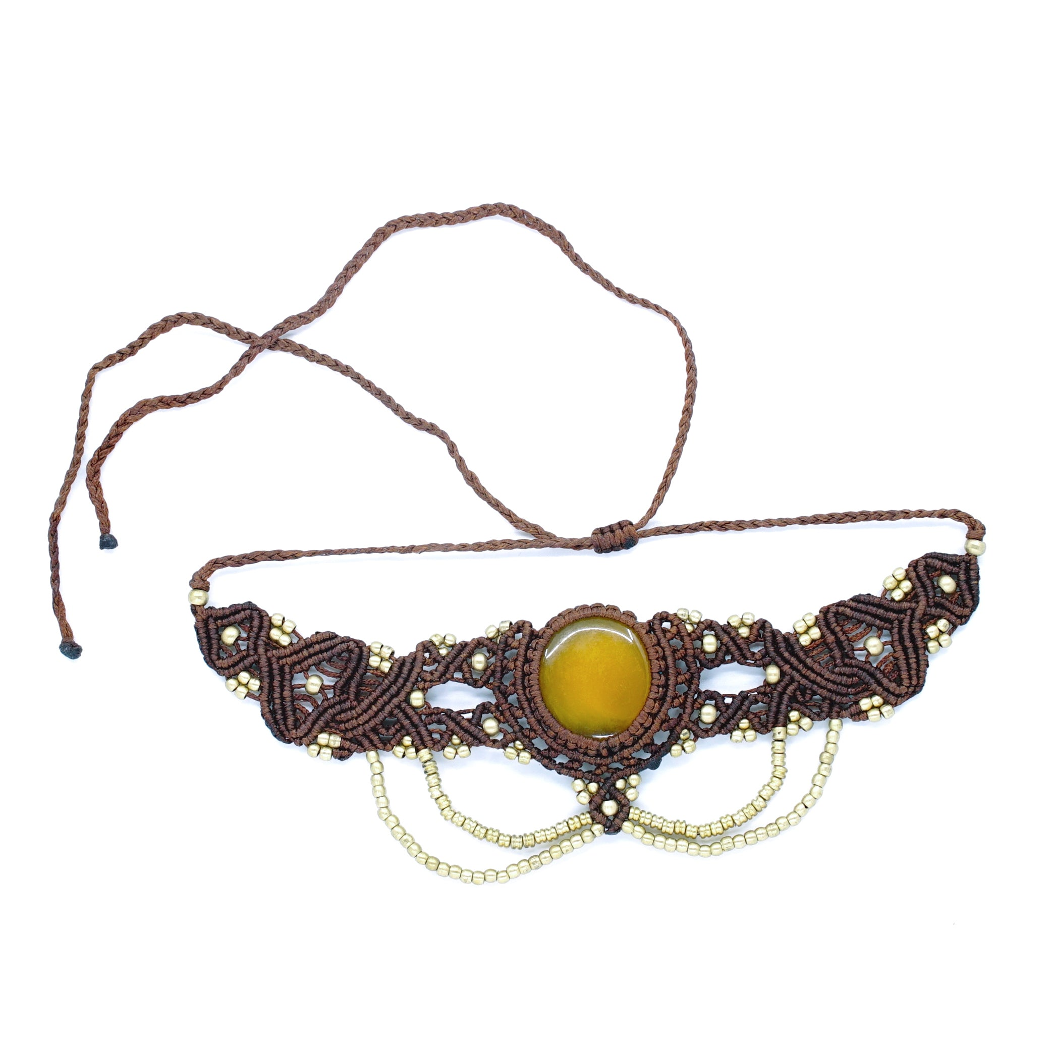 The Queen Off Duty Headdress/Choker - #17