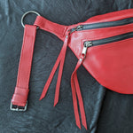 The Everywhere Bag — Red #1 with Gunmetal Hardware