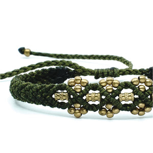 The Chaar Bracelet with Long Barrel Bead