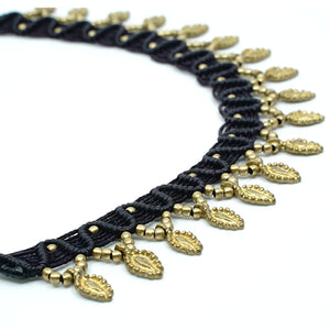 The Caviar Featherdrop Necklace