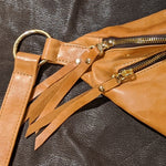 The Everywhere Bag — Marbled Cognac Leather