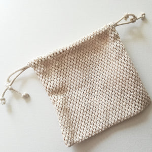 Cotton Mesh Bag -Small