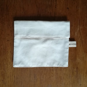 Bull denim snack pouch - small