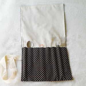 Ecoelephant Family Straw/Cutlery Pouch