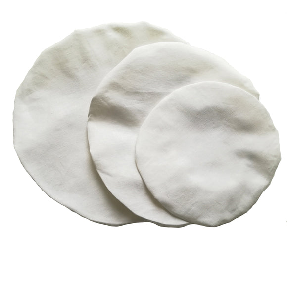 Hemp Linen Bowl Cover Set