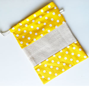 Cotton Mesh Produce Bag - Pattern 10