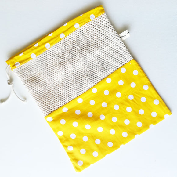 Cotton Mesh Produce Bag - Pattern 11