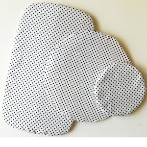 Dish Cover Set - Polka Dot Fabric