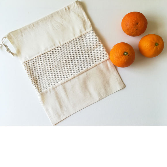 Cotton Mesh Produce Bag -Pattern 4