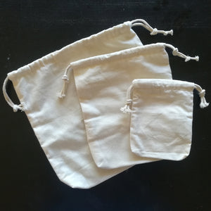 Cotton Produce Bag Set - Pattern 1