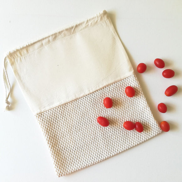 Cotton Mesh Produce Bag -Pattern 3
