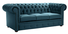 Load image into Gallery viewer, 1694 Chesterfield Sofa, Blue Allure Velvet