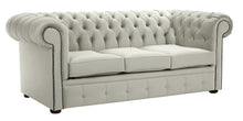 Load image into Gallery viewer, 1694 Chesterfield Sofa, Cream Allure Velvet