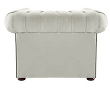 Load image into Gallery viewer, 1694 Chesterfield Club Chair, Cream Allure Velvet