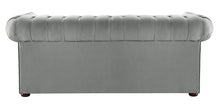 Load image into Gallery viewer, 1694 Chesterfield Sofa, Grey Allure Velvet