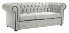 Load image into Gallery viewer, 1694 Chesterfield Sofa, Silver Allure Velvet