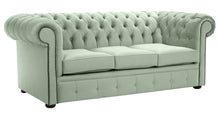 Load image into Gallery viewer, 1694 Chesterfield Sofa, Sky Allure Velvet