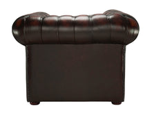 Load image into Gallery viewer, 1694 Chesterfield Club Chair, Red Antique Leather