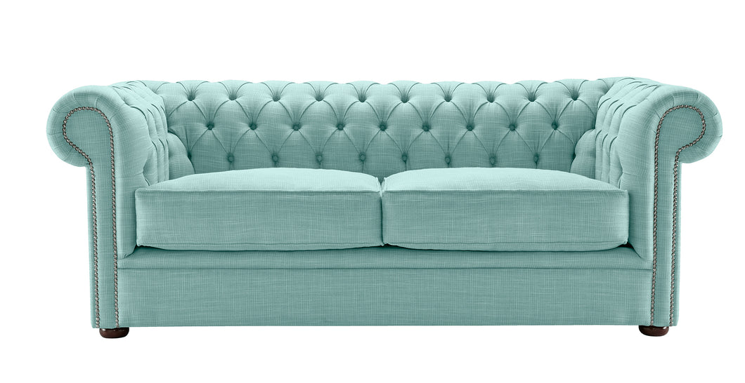 1694 Chesterfield Sofa, Duck Egg Dakota
