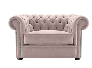 1694 Chesterfield Club Chair, Heather Dakota