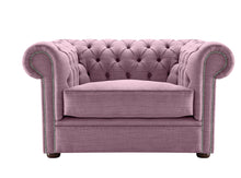Load image into Gallery viewer, 1694 Chesterfield Club Chair, Lavender Dakota