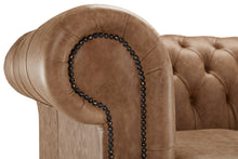 Load image into Gallery viewer, 1694 Chesterfield Club Chair, Bridle Heritage Leather