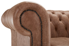 Load image into Gallery viewer, 1694 Chesterfield Club Chair, Hazel Heritage Leather