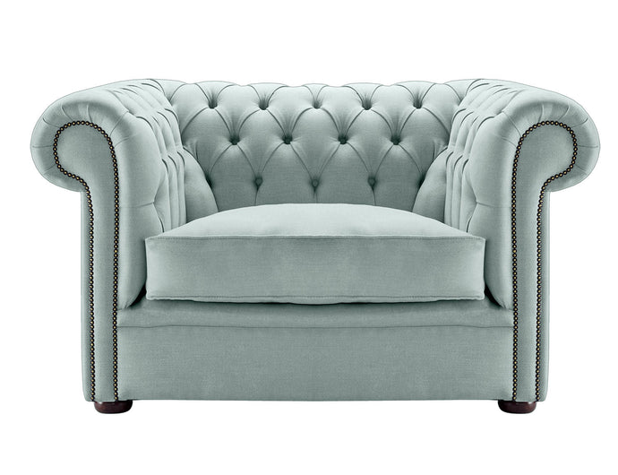 1694 Chesterfield Club Chair, Cloud Weave