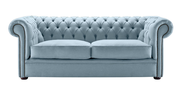 1694 Chesterfield Sofa, Sky Weave