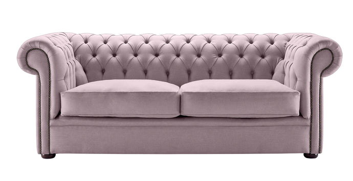 1694 Chesterfield Sofa, Sweet Pea Weave