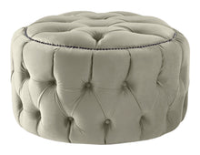 Load image into Gallery viewer, Boutique Velvet Cedar Nuvol Footstool