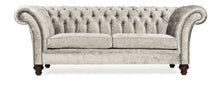 Load image into Gallery viewer, Milano Chesterfield Sofa, Argent Zagros Velvet