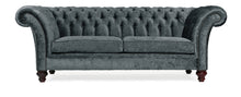 Load image into Gallery viewer, Milano Chesterfield Sofa, Midnight Zagros Velvet