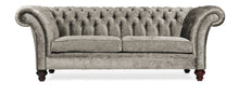 Load image into Gallery viewer, Milano Chesterfield Sofa, Steel Zagros