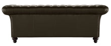 Load image into Gallery viewer, Milano Chesterfield Sofa, Chocolate Bolero Leather