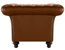 Load image into Gallery viewer, Milano Chesterfield Sofa, Tan Bolero Leather