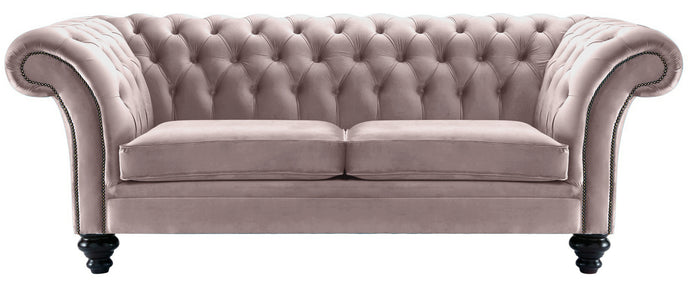 Milano Chesterfield Sofa, Heather Boutique Velvet