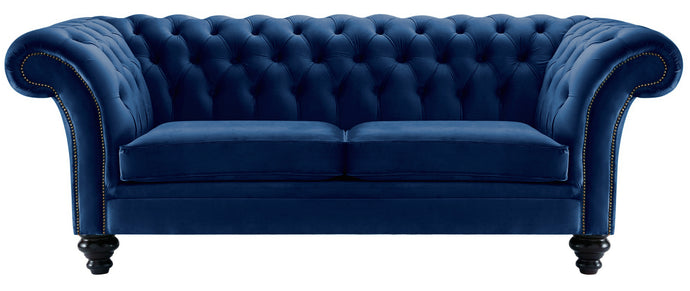 Milano Chesterfield Sofa, Royal Boutique Velvet
