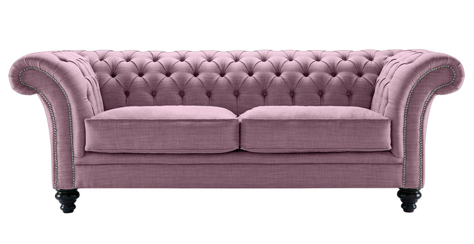 Milano Chesterfield Sofa, Lavender Dakota