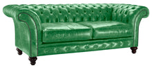 Load image into Gallery viewer, Milano Chesterfield Sofa, Amazon Lustro Leather