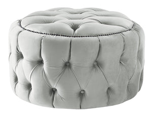 Boutique Velvet Steel Nuvol Footstool
