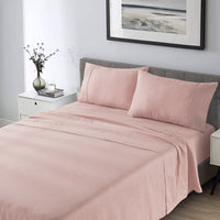 Wholelinens Linen Sheet Sets- Deep Pocket with Flat and Fitted Pair