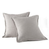 "Wholelinens Linen European Pillow Shams, 2 Pcs, 26""x26"" Square Pillow Sham - Wholelinens"