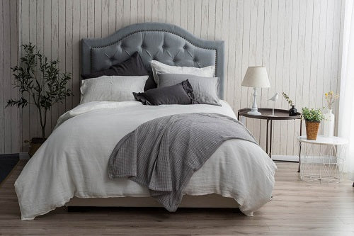 Wholelinens Linen Duvet Cover Set-Stone Washed Double Stitch Edge - Wholelinens