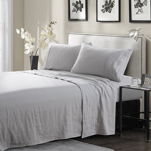 Wholelinens Linen Sheet Sets- Deep Pocket with Flat and Fitted Pair - Wholelinens