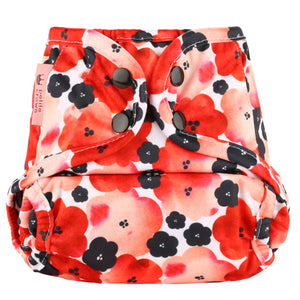 Poppy Petite Crown Cloth Diaper Cover Catcher OS
