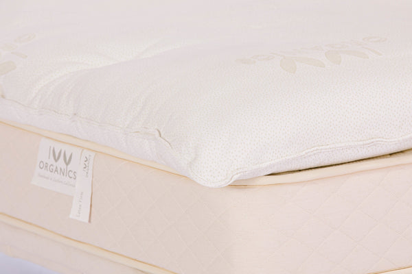 Organic Mattress Topper - 4 Inch Wool - PJs Sleep Company | Luxury Organic Mattresses & Bedding